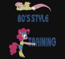 Fluttershy  and Pinkie Pie Training  by turokevie