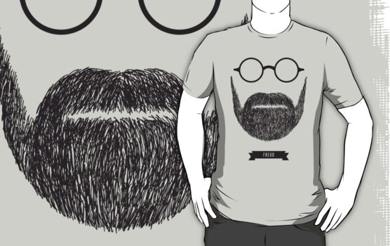 Beards with Glasses – Sigmund Freud by Justin Ladia