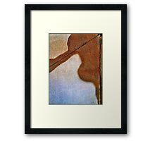 Main Rain Stain Framed Print
