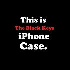 The Black Keys iPhone case by Joe  McQuillan
