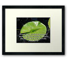 """Psalm 69:15"" Color by Carter L. Shepard Framed Print"