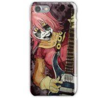 Black Metal Bass Girl iPhone Case/Skin