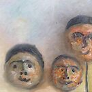 The Three Balloonists. by Tim  Duncan