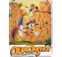 quackshot iPad Case/Skin