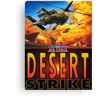desert strike Canvas Print