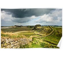 Hadrian's Wall from Cuddys Crag Poster