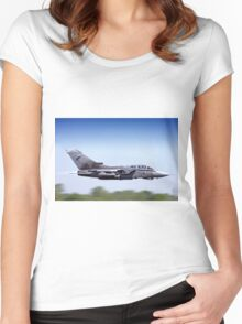 Royal Air Force Panavia Tornado GR.4 ZD707/077 Women's Fitted Scoop T-Shirt
