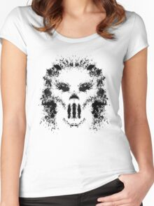 Casey Jones Rorschach Test Women's Fitted Scoop T-Shirt