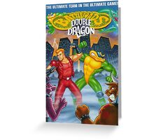 battletoads vs double dragon Greeting Card