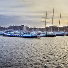 Port of Amsterdam by stereoscopic