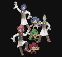 1 - Striaton City Gym, Leaders Cilan, Chilli & Cress Kids Clothes