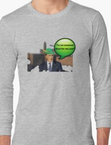 Mitt Romney i'm not concerned about the very poor robin hood 2012 Long Sleeve T-Shirt