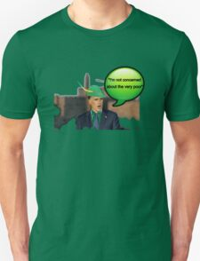 Mitt Romney i'm not concerned about the very poor robin hood 2012 Unisex T-Shirt