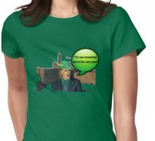 Mitt Romney i'm not concerned about the very poor robin hood 2012 Womens Fitted T-Shirt