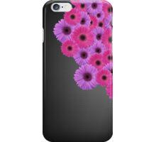 Gerberas on Black Mesh iPhone Case/Skin