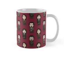 Repeating Musketeers (red ground) Mug