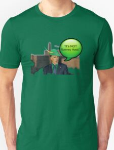 """It's not Romney hood"" funny robin hood tax dodge shirt Unisex T-Shirt"