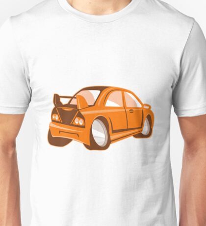 Cartoon style sports car isolated Unisex T-Shirt