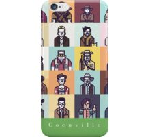 Coenville (White Lettering) iPhone Case/Skin