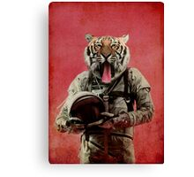 Space tiger Canvas Print