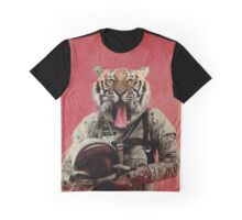 Space tiger Graphic T-Shirt