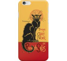 Tournée du Chat Noir - The Black Cat Tour (v3) iPhone Case/Skin