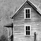 Age-Old Farm House by Jean Gregory  Evans