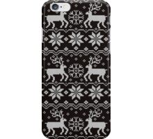 Jacquard with Reindeers iPhone Case/Skin
