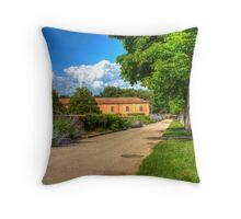 Plaza della liberta, Siena, Italy Throw Pillow