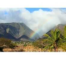At the End of the Rainbow Photographic Print