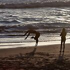 Beach Back Flips by cjfehr