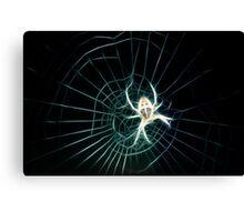 Fractal spider Canvas Print