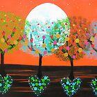 ♥ ♥ ♥ ♥ ♥ Heart Trees♥ ♥ ♥ ♥ ♥ by emelisa