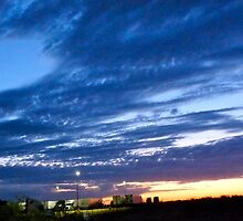 Sunrise Hues of Blues by skyhat