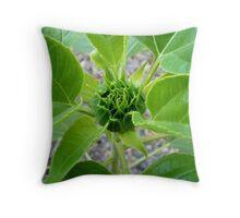 Flower Bud Throw Pillow