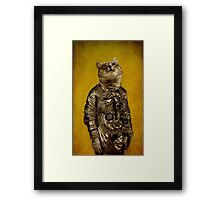 Up there is my home Framed Print