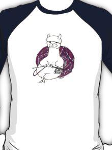 alpaca knitting T-Shirt