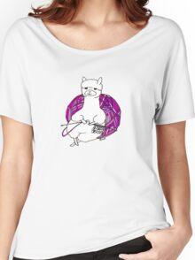 alpaca knitting Women's Relaxed Fit T-Shirt
