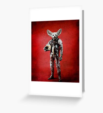 Space is calling Greeting Card