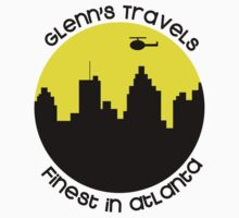 Glenn's Travels- A Walking Dead Parody Shirt by Brittany  Collins