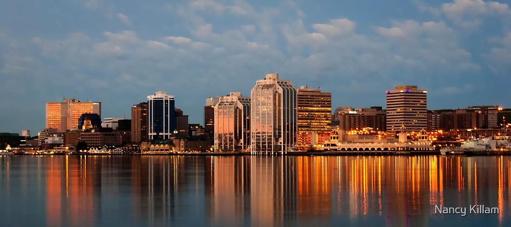 Halifax's first light by Nancy Killam