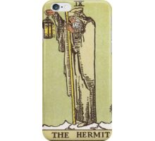 Tarot - The Hermit iPhone Case/Skin