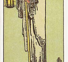 Tarot - The Hermit by TexasBarFight