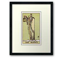 Tarot - The Hermit Framed Print