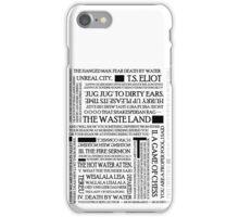 The Waste Land iPhone Case/Skin