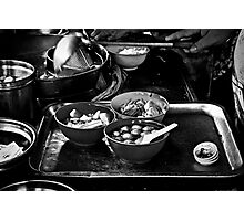 Hawker stand in Penang Island, Malaysia Photographic Print