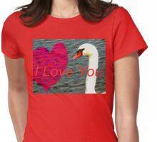 Message of love Womens Fitted T-Shirt
