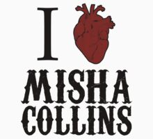 Anatomical Love - Misha Collins by tripinmidair