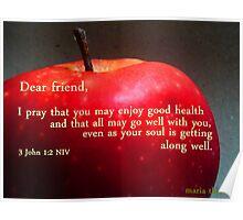 Dear Friend, Poster