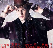 Doctor who 11th Doctor/ happy Whomas  by Katie358